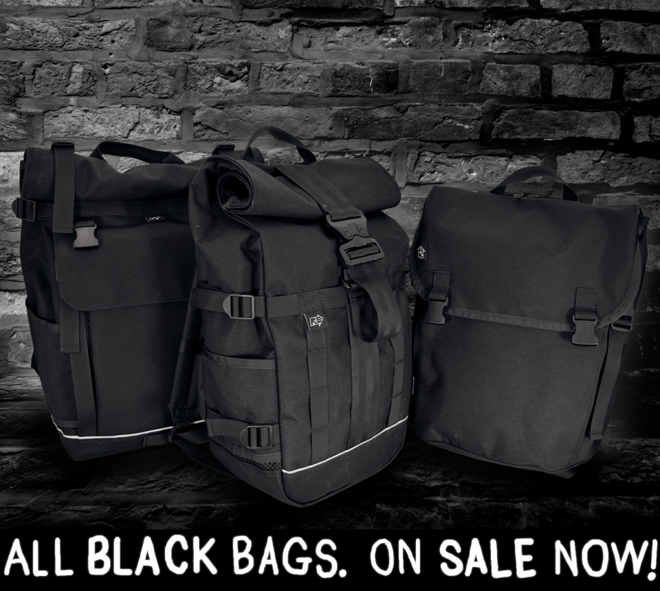 All BLACK BAGS on SALE now!