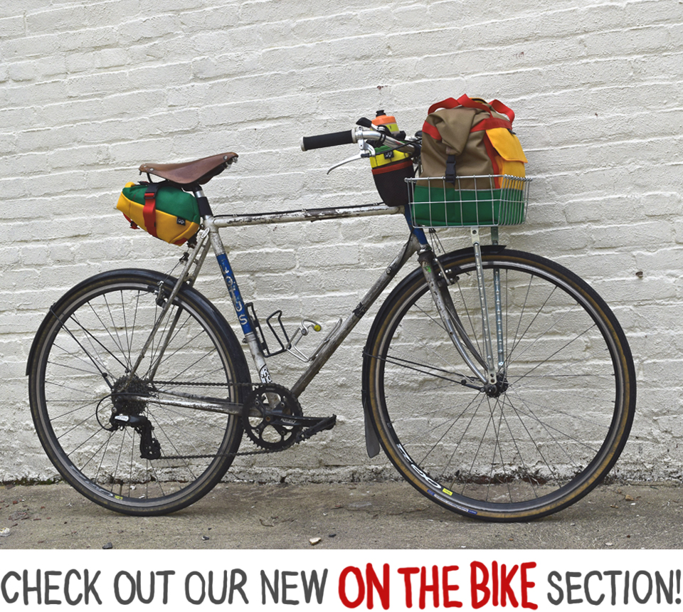 Saddle Bags, Stem Bags and Basket Bags!